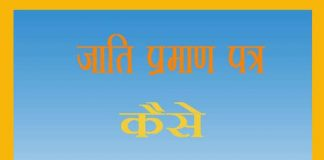 How to Apply Cast Certificate Online in Hindi