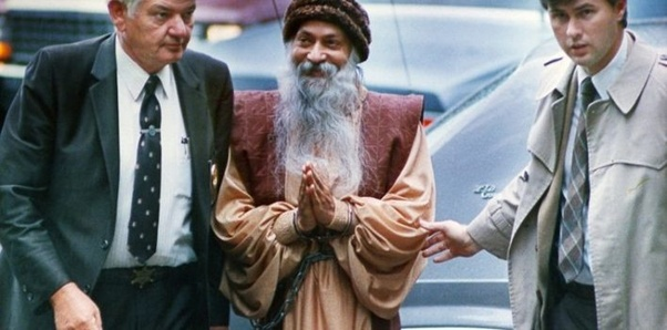 osho-arrested-by-police