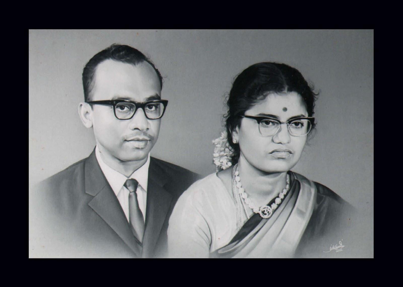 radhakrishnan-with-his-wife