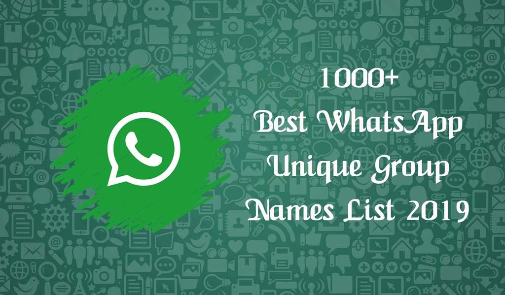 best-whatsapp-unique-group-names-list