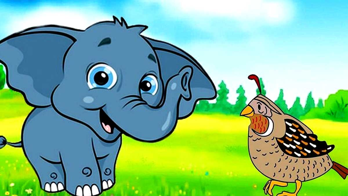 Elephant and the Sparrow Story In Hindi