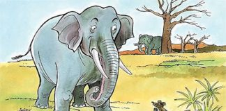 Elephants and King of Mice Story In Hindi