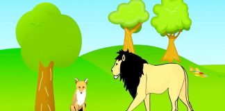 Lion and the Jackal Story In Hindi