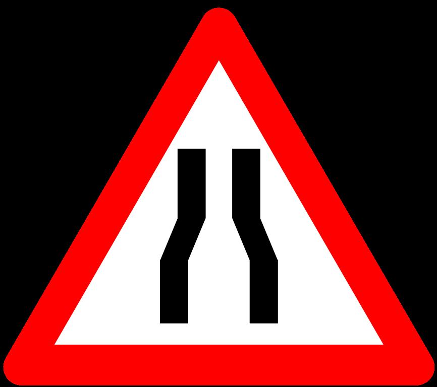 Narrow_road_sign_India