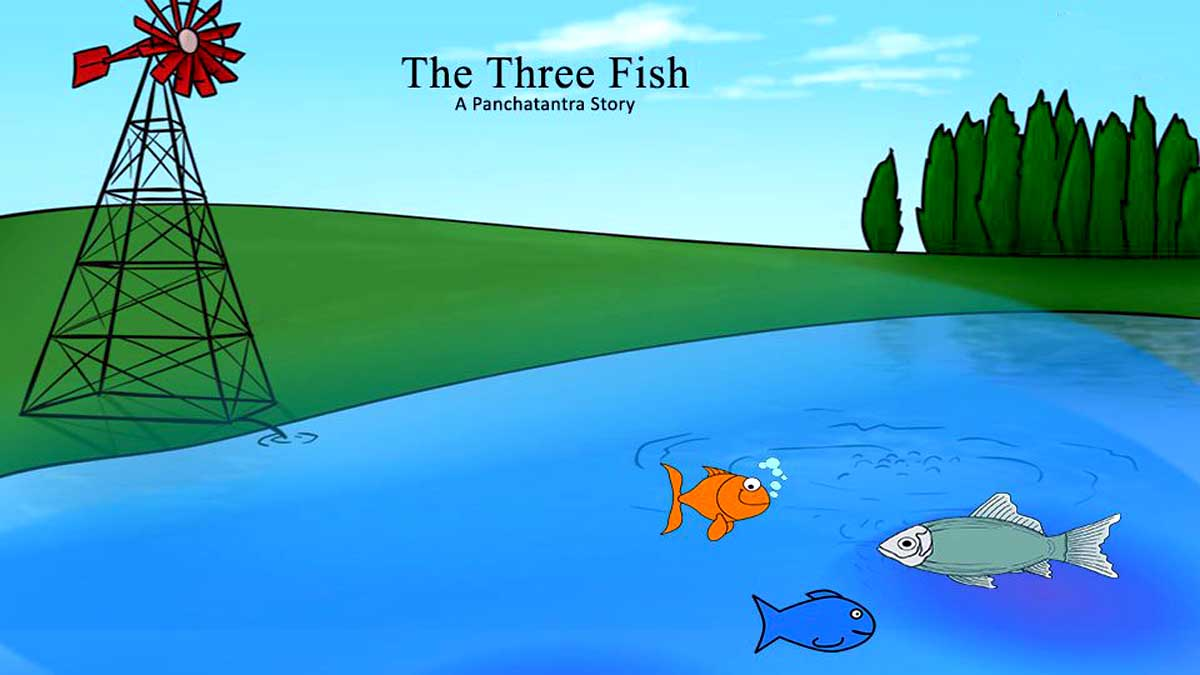Tale of the Three Fishes Story In Hindi
