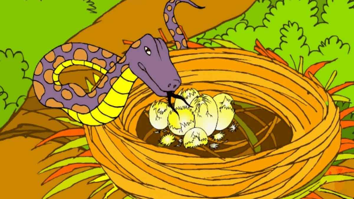 The-Cobra-And-The-Crows-Panchatantra-Story-In-Hindi