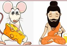 The Hermit and the Mouse Story In Hindi