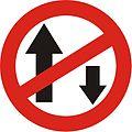 traffic signs chart