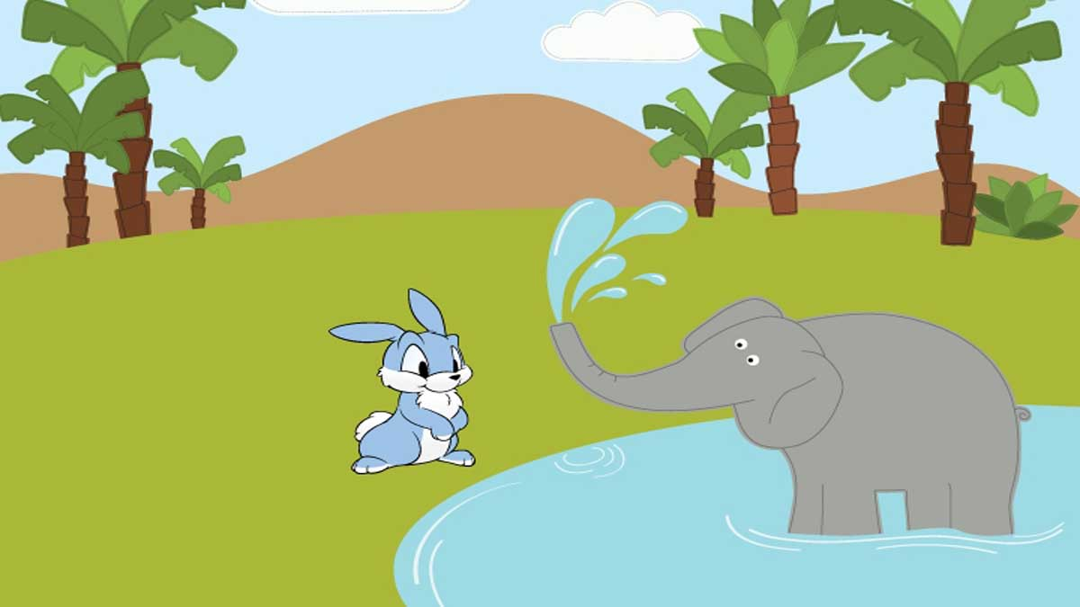 Elephants and Hares Story In Hindi