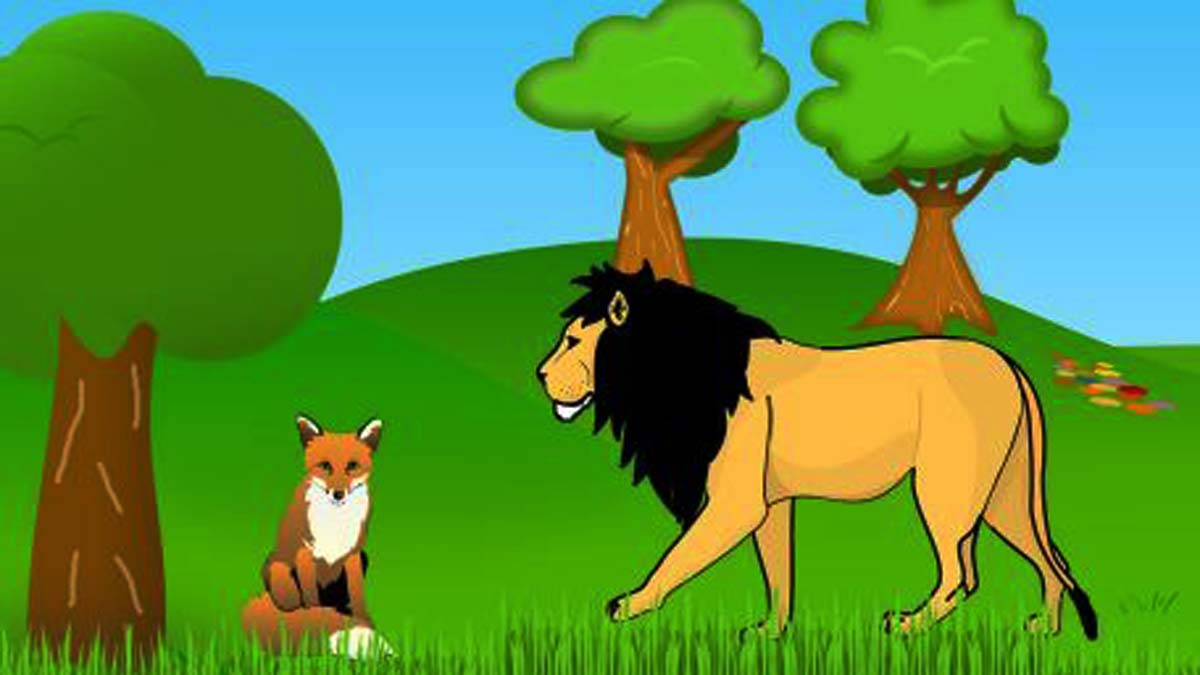 Lioness and the Young Jackal Story In Hindi