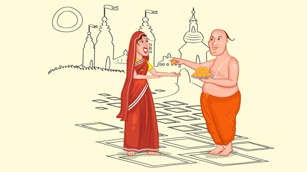 Shandili and Sesame Seeds Story In Hindi