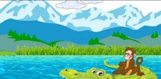 The Monkey And The Crocodile Story In Hindi