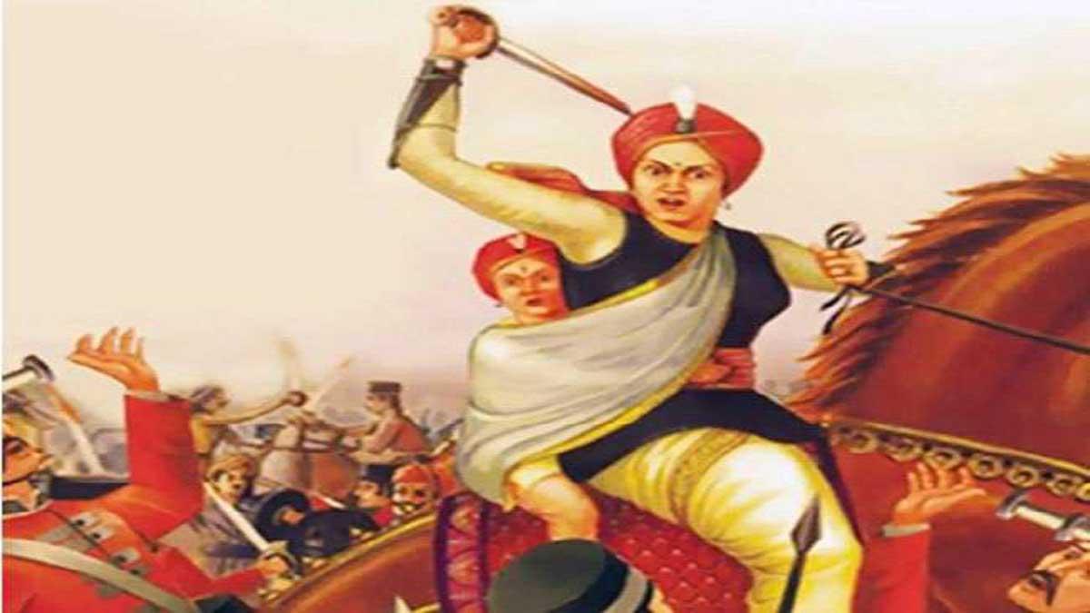 Jhansi ki Rani Poem in Hindi