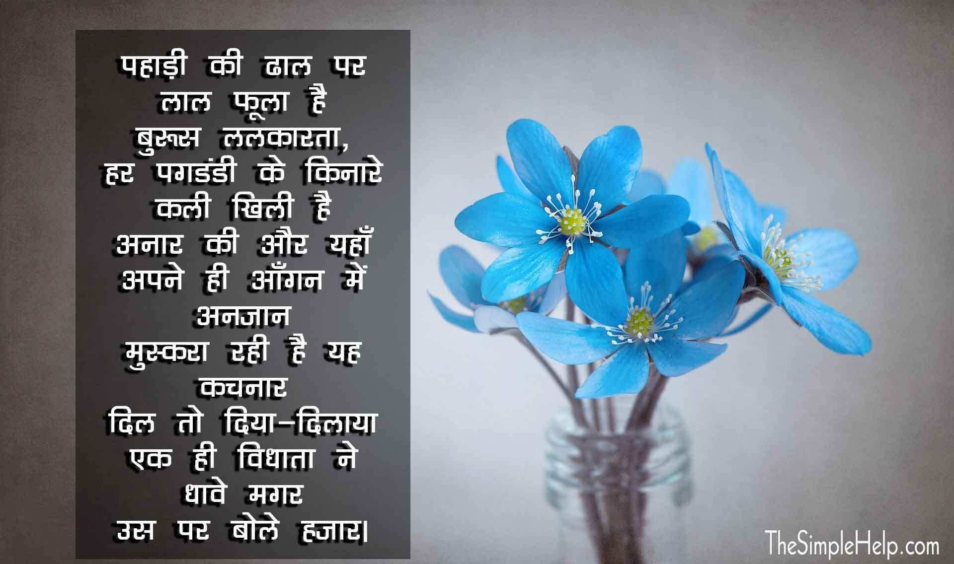 Phoolon Par Kavita