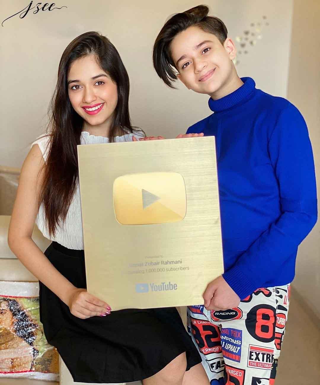Jannat Zubair YouTube