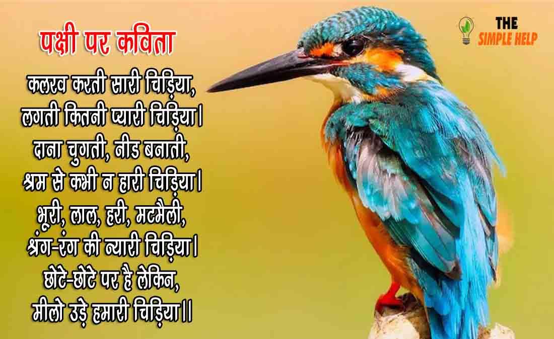 Birds Poems in Hindi