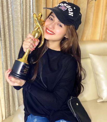 Jannat Zubair Awards