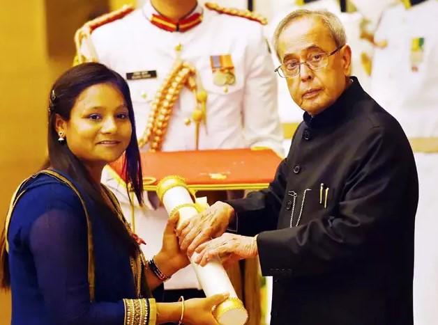 Arunima Sinha in Hindi