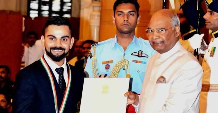 Virat Kohli Awards