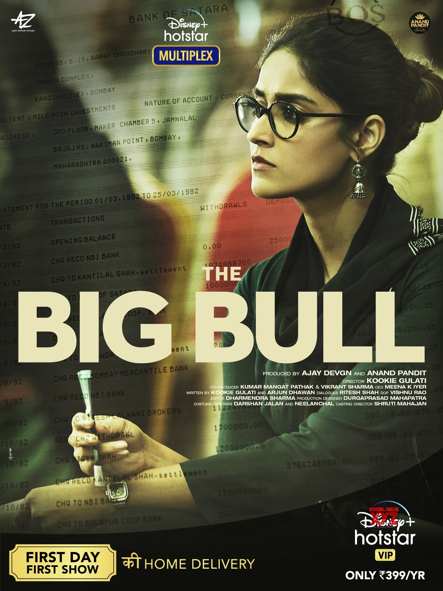 the big bull movie story cast and release date