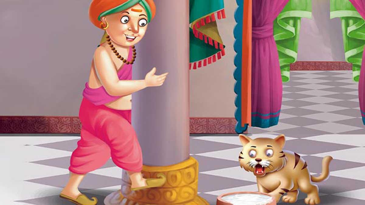 Doodh na Peene Wali Billi Tenali Rama Story in Hindi