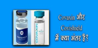 Covaxin and Covishield Difference in Hindi
