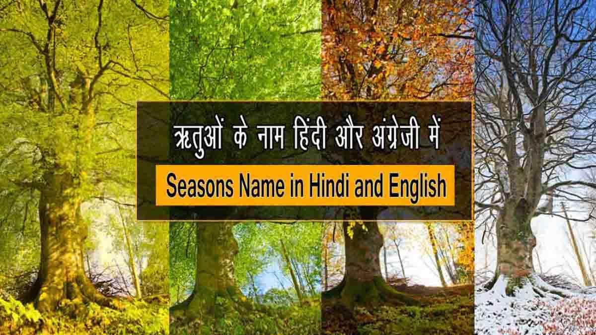 Seasons Name in Hindi and English