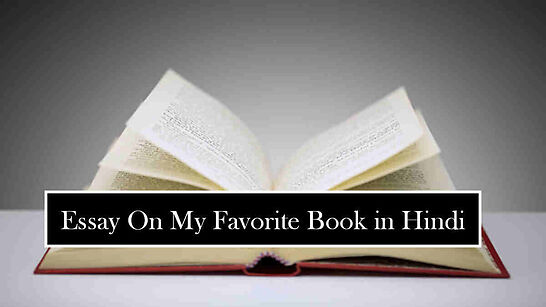 Essay On My Favorite Book in Hindi