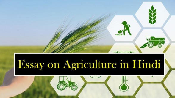 Essay-on-Agriculture-in-Hindi-