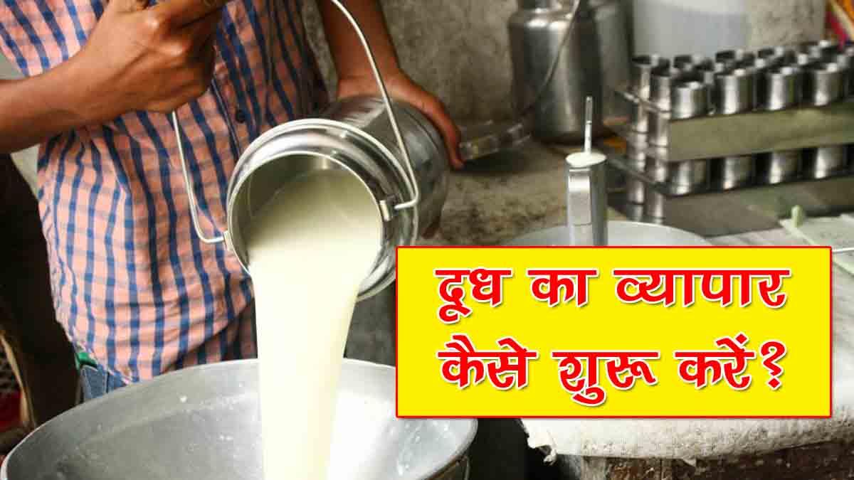 Milk Dairy Business Plan in Hindi