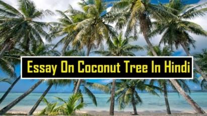 Essay-On-Coconut-Tree-In-Hindi-