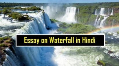 Essay-on-Waterfall-in-Hindi
